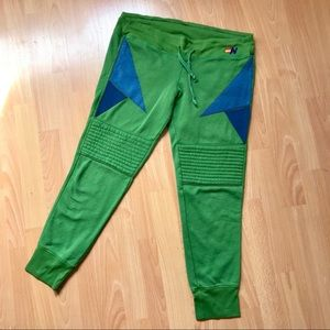 AVIATOR NATION Sweatpants MOTO Triangles EUC L